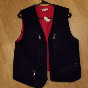 NEW Ann Taylor Suede Vest